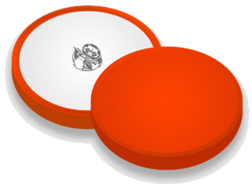 POLISHING PAD ORANGE - medium / 150mm Polierpad