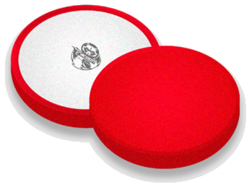 POLISHING PAD YELLOW RED - hard / 150mm Polierpad