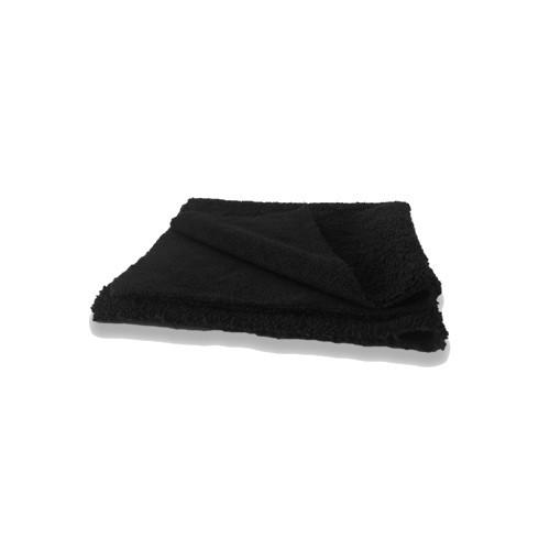 MICROFIBER CLOTH (40x40 / 380g / black) Mikrofaser-Tuch